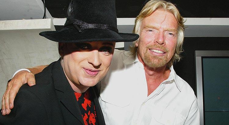 Branson e Boy George