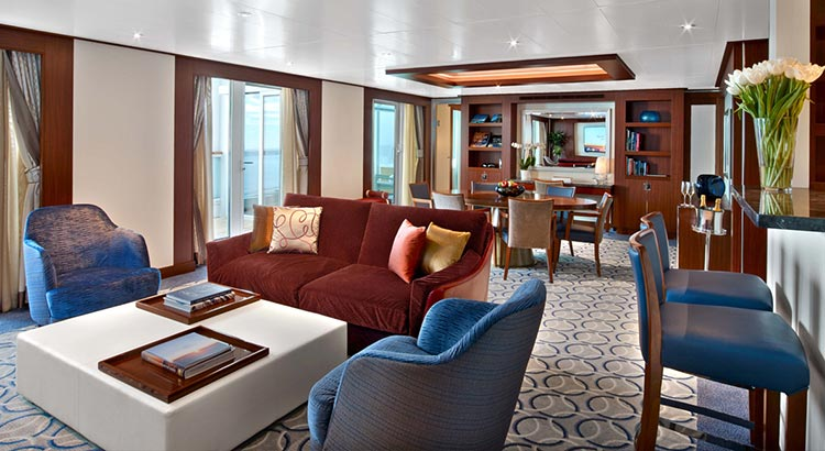 Seabourn Ovation Suite