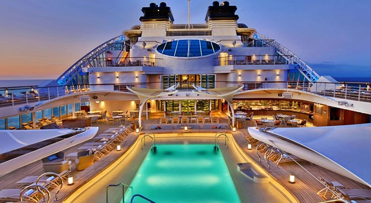 Seabourn Ovation Pool
