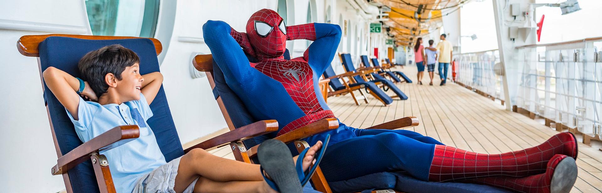 Marvel e Star Wars Day at Sea