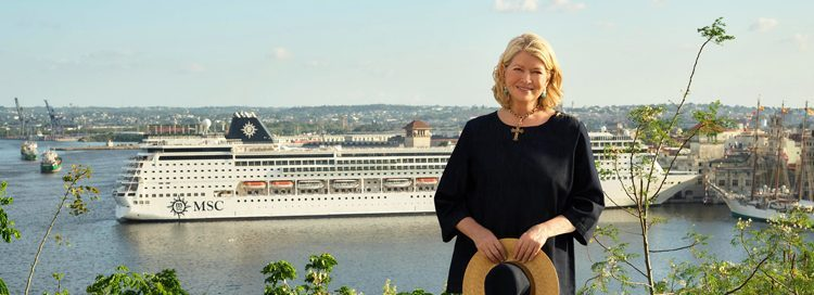 Martha Stewart & MSC Cruises