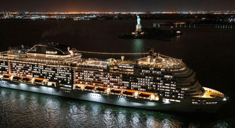 MSC Meraviglia in New York